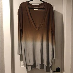 Pins and Needles Ombré Sweater